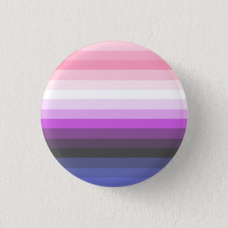 Gradient Genderfluid Pride Flag Button