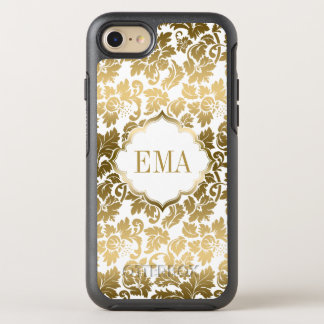 Gradient Gold Damask Pattern OtterBox Symmetry iPhone 8/7 Case