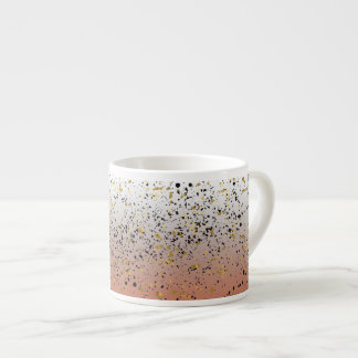 Gradient Mixed Speckled Cup