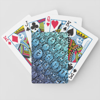 Gradient of Abstract Shapes Bicycle Playing Cards