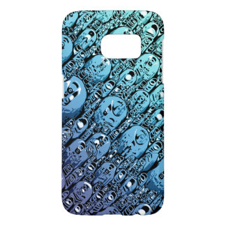 Gradient of Abstract Shapes Samsung Galaxy S7 Case