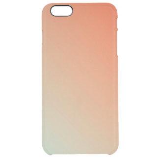 Gradient: Orange Red to Magic Mint iPhone Case