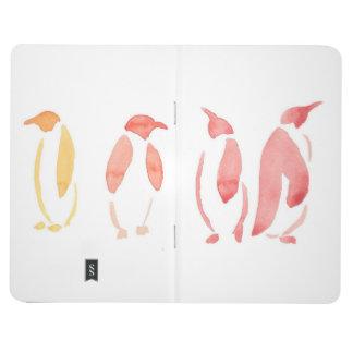 Gradient Penguins Pocket Journal
