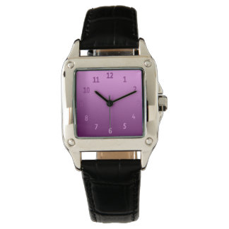 Gradient Simple Colourful Pink Wrist Watch