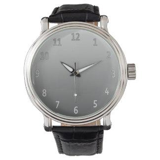 Gradient Simple Grey Watch