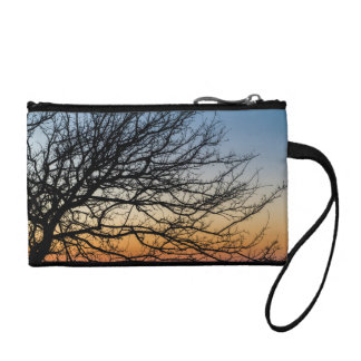 Gradient Sky in Winter Coin Purse