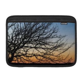 Gradient Sky in Winter MacBook Sleeve