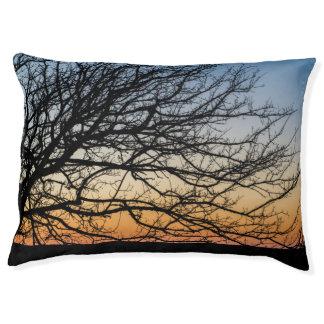 Gradient Sky in Winter Pet Bed