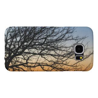 Gradient Sky in Winter Samsung Galaxy S6 Cases