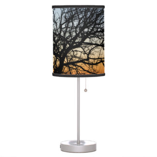 Gradient Sky in Winter Table Lamp
