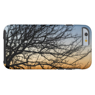 Gradient Sky in Winter Tough iPhone 6 Case