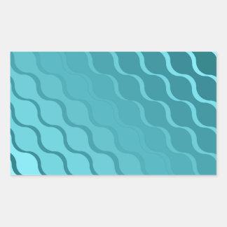 Gradient Wave Light Play Sticker