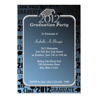 Graduatation 2012 Blue Card