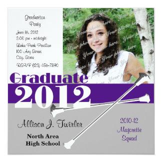 Graduate 2012 Majorette Announcements