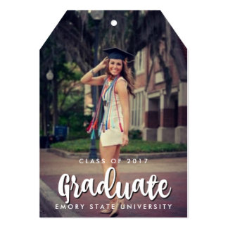 Graduate 2017 Photo Party Invitation Tag