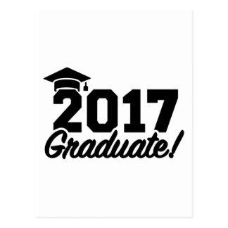 Graduate Class of 2017 Postcard