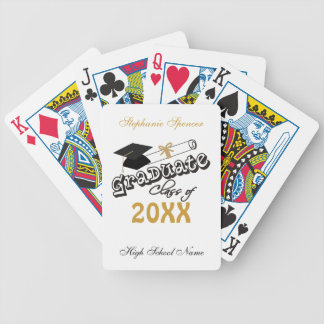 Graduate Class of 20XX Playing Cards