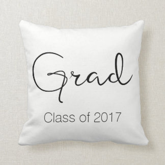 Graduate / Class of Throw Pillow