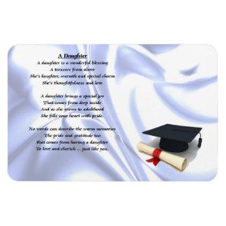 Graduate - Daughter Poem Magnet