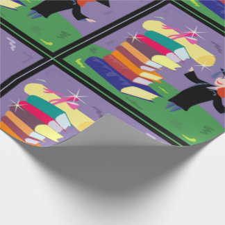 Graduate Girl Wrapping Paper