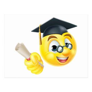 Graduate Graduation Emoji Emoticon Postcard