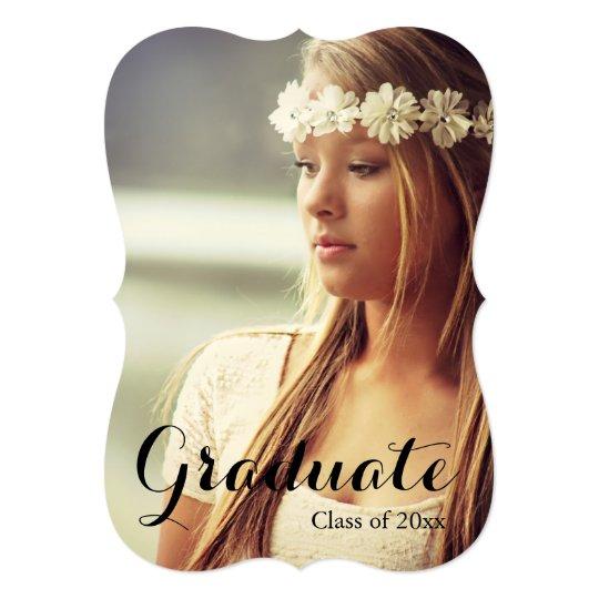 Graduate graduation party invitation