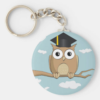 Graduate Owl Keychain