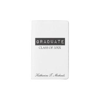 Graduate Pocket Moleskine Notebook