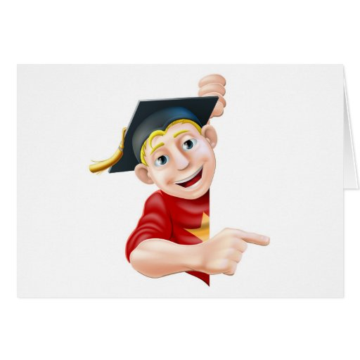 Graduate pointing card