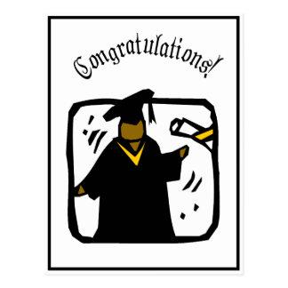 Graduate Receiving Diploma (1) Postcard