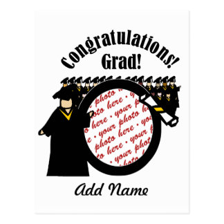 Graduate Receiving Diploma (2) Photo Frame Postcard