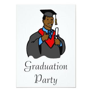 Graduate Thumbs Up 5x7 Paper Invitation Card