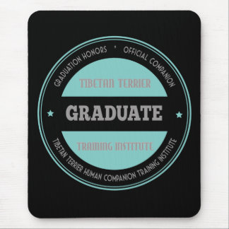 Graduate TTTraining Institute Tiffany Blue Mouse Pad
