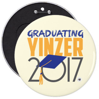 Graduating Yinzer 2017 Mega Pin