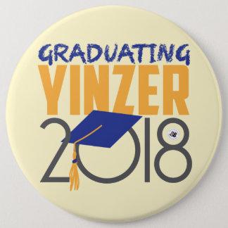 Graduating Yinzer 2018 Mega Pin