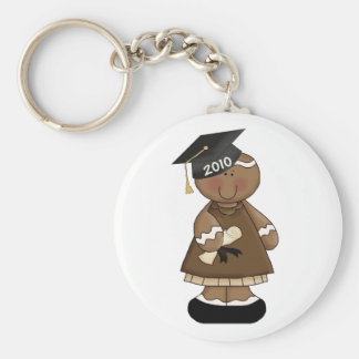 graduation 2010 gingerbread girl keychain