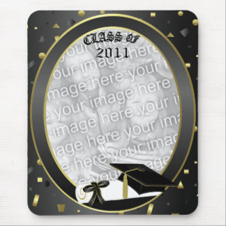 Graduation 2011 Insert own Grad photo Mouse Pad