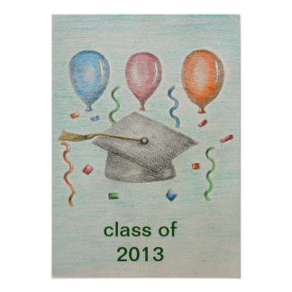 "graduation 2012 5"" x 7"" invitation card"