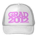 Graduation 2012 Hat Pink