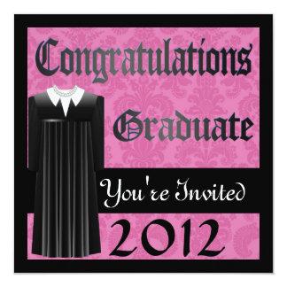 GRADUATION 2012 INVITATIONS GIRLS