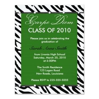 "Graduation 4.25"" X 5.5"" Invitation Card"
