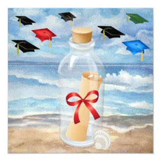 "Graduation - ""Beach Invitation in a Bottle"" - SRF"