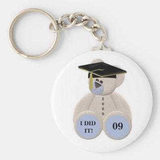 Graduation-Bear 2009 I DID IT! Keychain