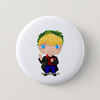 Graduation Boy Blonde (A) 2 Inch Round Button