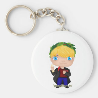 Graduation Boy Blonde (A) Keychain