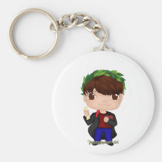 Graduation Boy Brown (A) Keychain