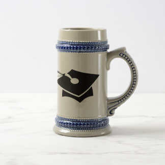 Graduation Cap Beer Stein