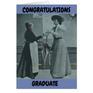 GRADUATION CARD FEMALE DRESS FOR SUCCESS CHRISTIAN