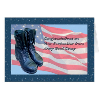 Graduation Card from Army Boot Camp