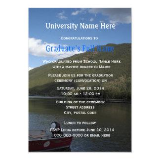 Graduation ceremony (convocation) invitations